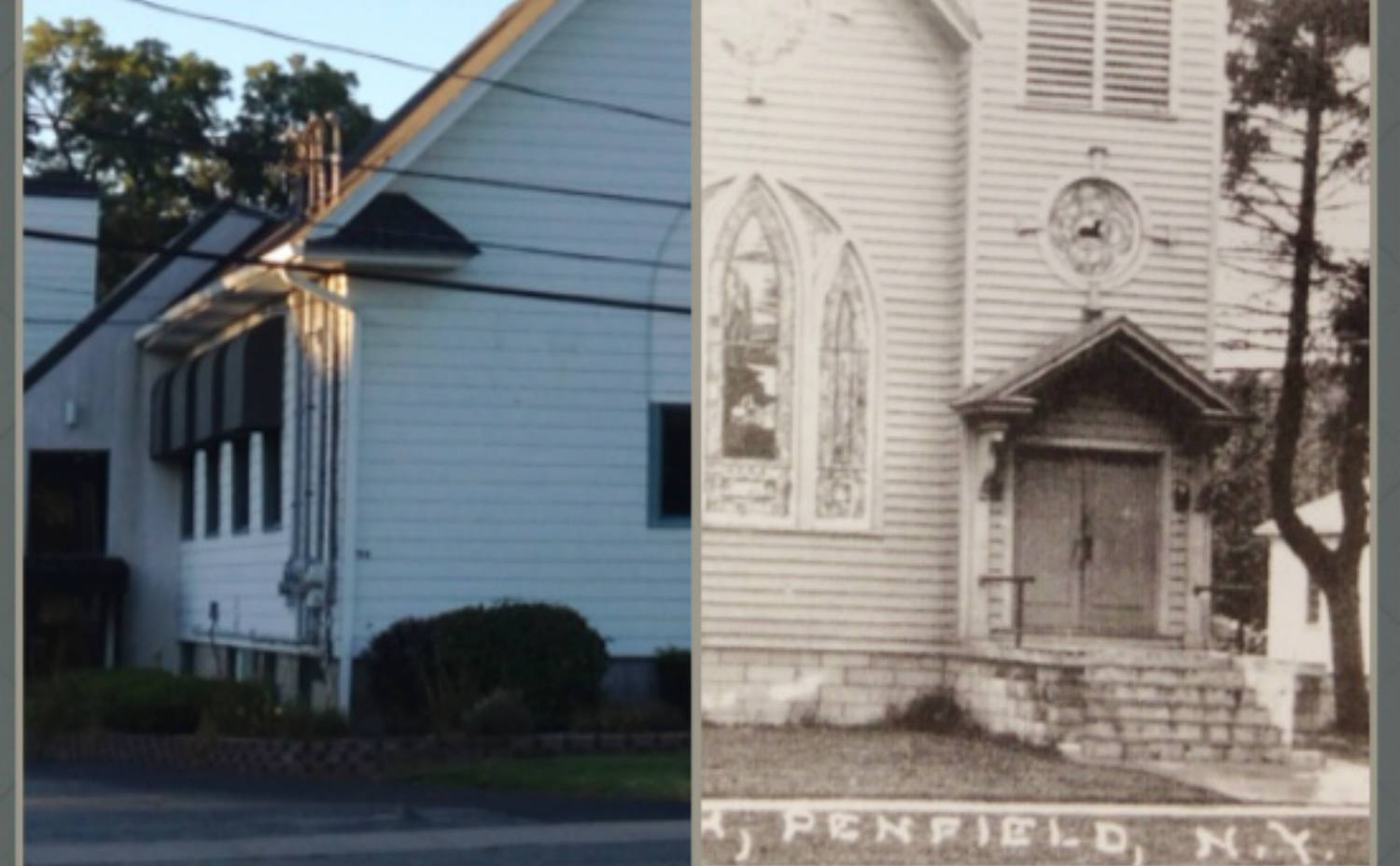 Then and Now: Advent Christian Church in Penfield, NY