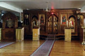 Holy Trinity Monastery - Jordanville, NY Church #2 Basement Iconostatsis