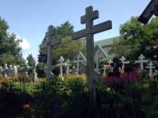 Holy Trinity Monastery - Jordanville, NY Church #1 Cemetery