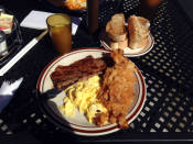 Steak and Eggs at the Parkside Diner; Rochester, NY