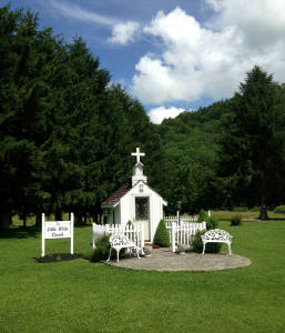 The Little White Church of Great Valley, NY