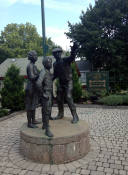 Tipperary Hill Memorial Park Statues