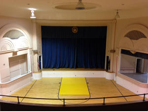 Gymnasium in Hadley Hall
