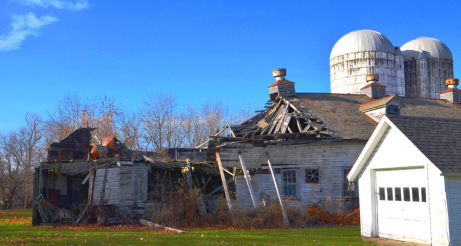 Clifton Springs Sanitarium Company Barn in Clifton Springs, NY - Featured Image