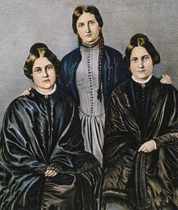 Portrait of the Fox Sisters