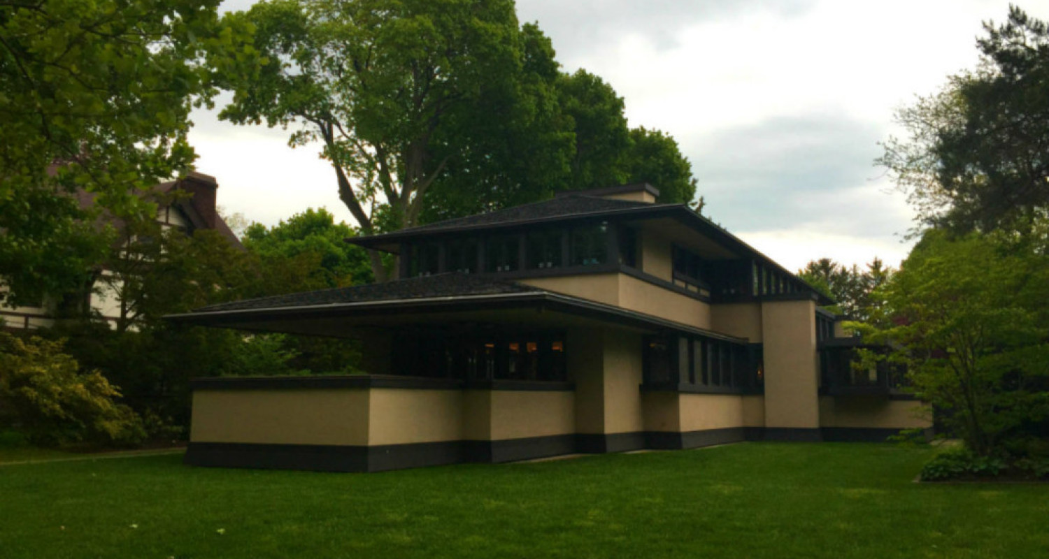 An inside tour of the boynton frank lloyd wright house of for Frank lloyd wright houses