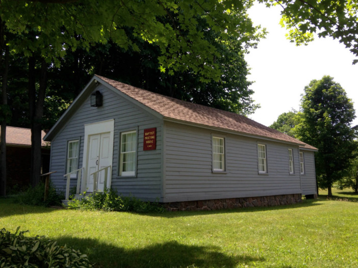 Baptist Meeting House at Heritage Square Museum – Ontario, NY
