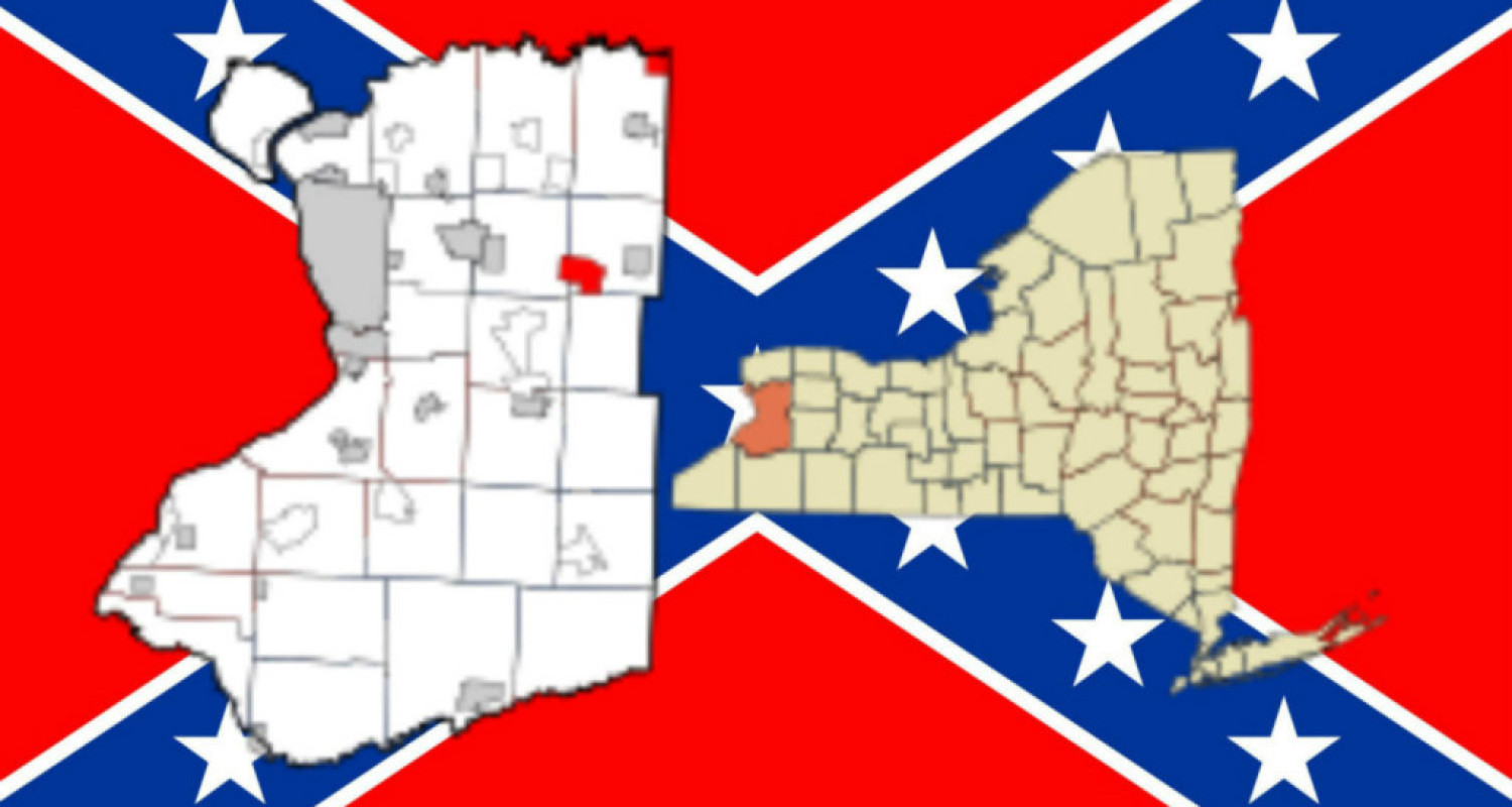 Town Line, NY and Confederacy - Featured Image