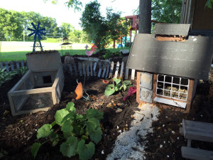 Fairy Village under the Treehouses in Geneseo