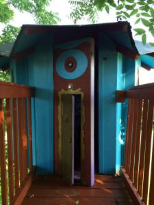 Tea Room Treehouse in Geneseo