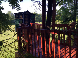 The Wizard's Den Treehouse in Geneseo