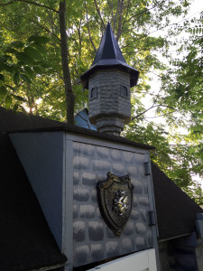 The Castle Treehouse in Geneseo