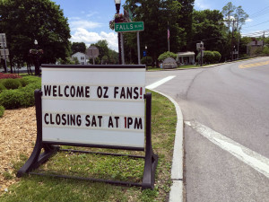Welcome Oz Fans Sign in Chittenango