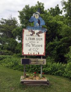 Entrance Sign to Chittenango, New York