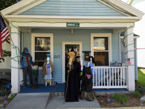 Wizard of Oz Fan Front Porch in the Village of Chittenango, New York