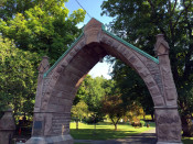 Mt. Albion Cemetery Gateway Arch