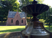 Mt. Albion Cemetery Fountain and Chapel