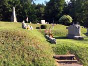 Mt. Albion Cemetery terraced moraine