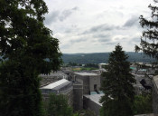 View from the Chapel at West Point Military Academy