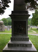 General Custer's Gravesite at West Point Military Academy Cemetery