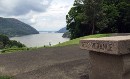 Hudson River at West Point Military Academy in New York