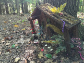 Fairy Village Trail in Lily Dale