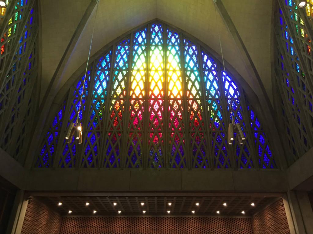 Presidio interfaith chapel wedding