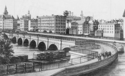 The Erie Canal in Rochester ca. 1878