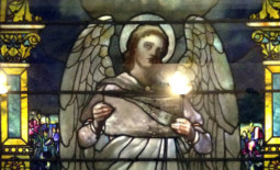 Isabella Graham Hart Memorial Window by Louis Comfort Tiffany at Rochester General Hospital in Rochester