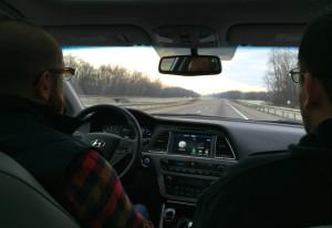 New York State Thruway Travel