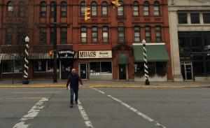 Chris Clemens in Utica, New York