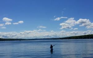 Fishing in Conesus Lake