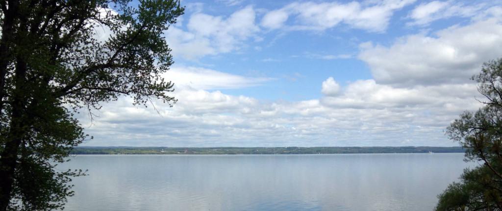 Seneca Lake in the Finger Lakes New York