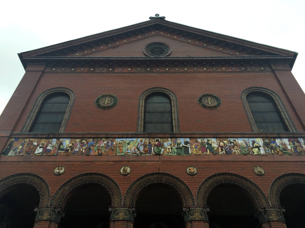 St. Luke's Mission facade in Buffalo, New York
