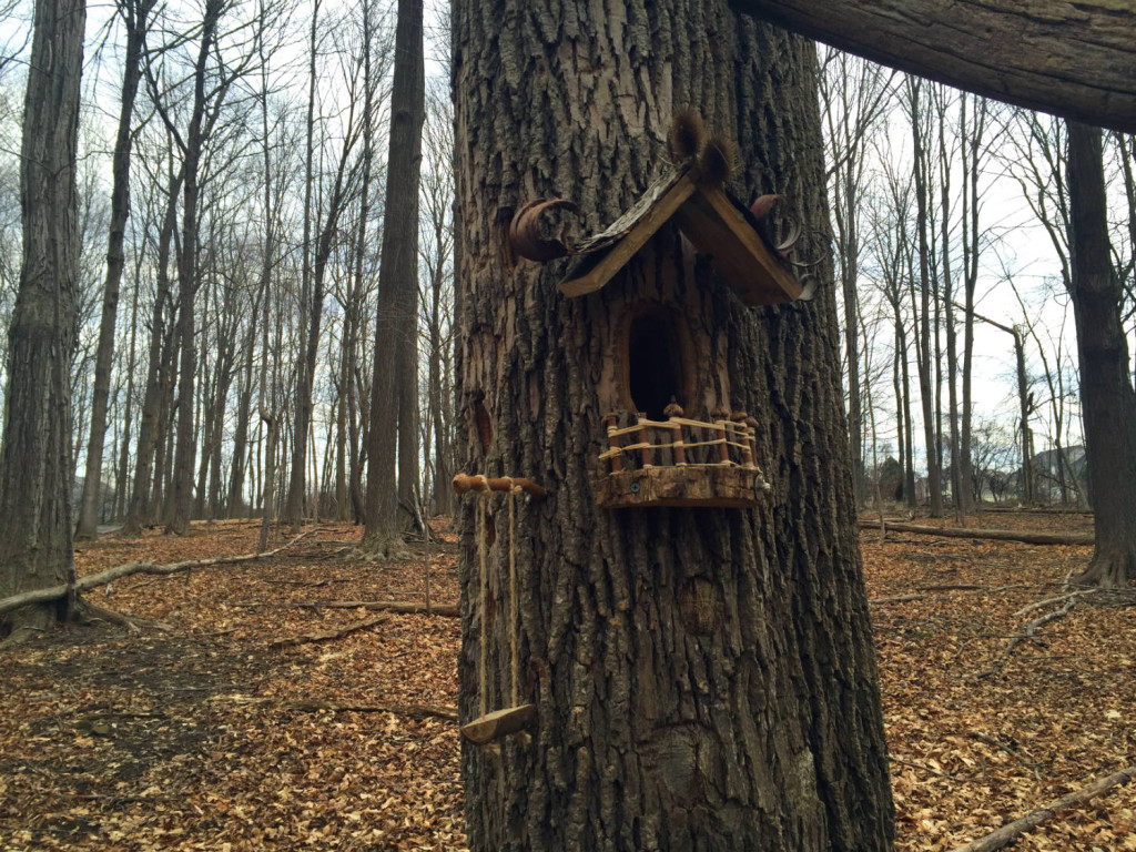 Fairy Village House at Tinker Nature Park in Henrietta, New York