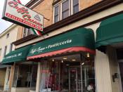 Caffe Caruso Store Front in Utica, New York