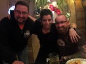 Chris Lindstrom and Chris Clemens at Bella Regina in Utica, New York
