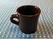 Brown Victor Coffee Mug