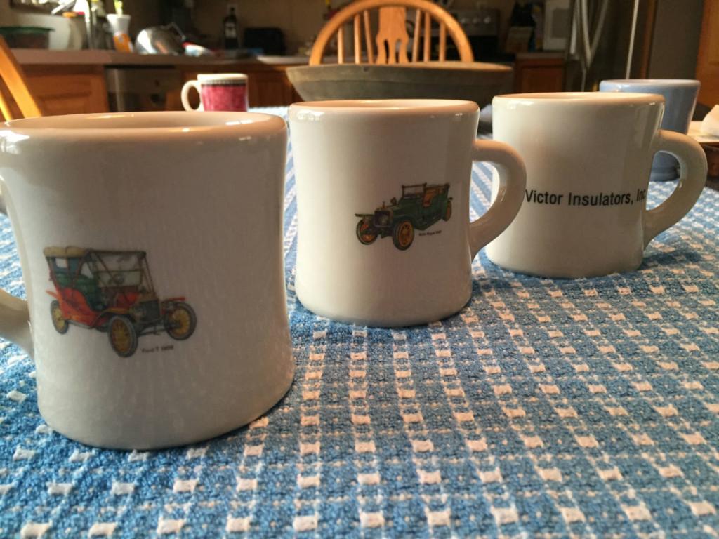 Victor Car Collection Coffee Mugs