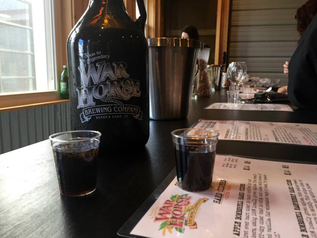 Root Beer War Horse Brewing in Geneva, New York