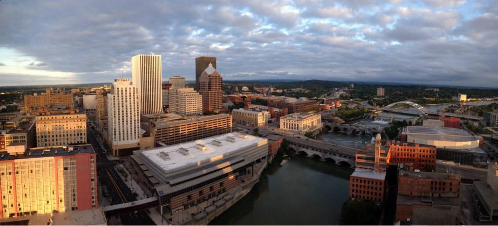 Rochester, New York Skyline