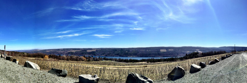 Panoramic of Keuka Lake
