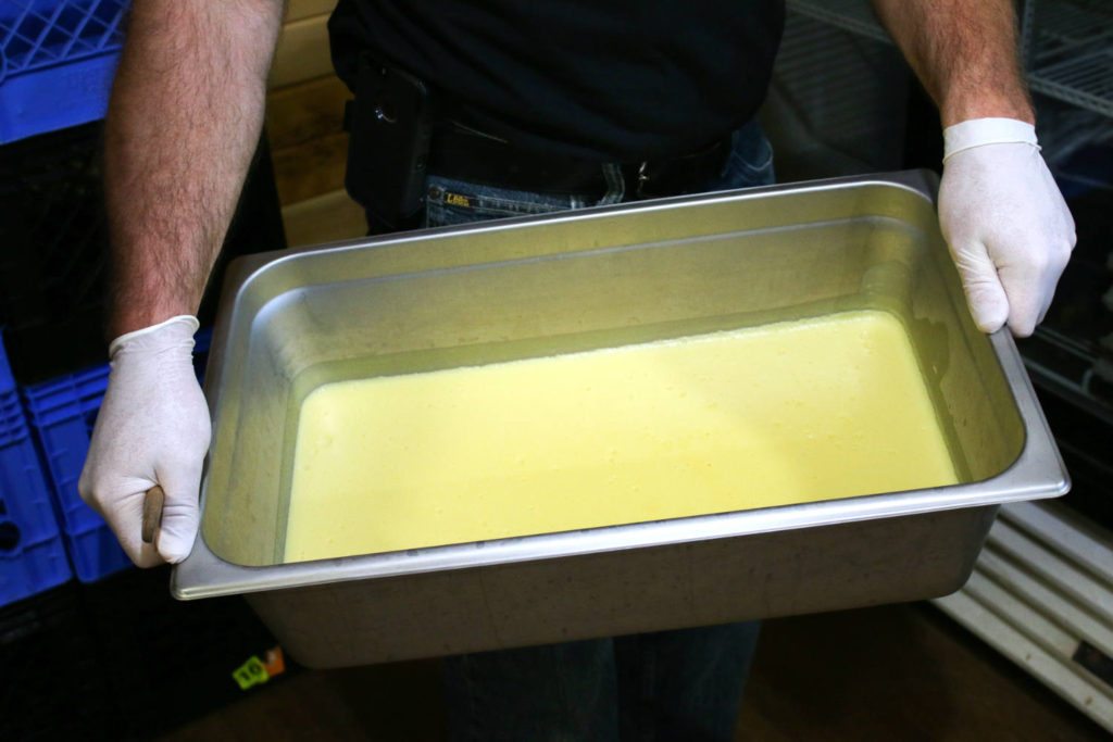 Custard at Spotted Duck Creamery in Penn Yan, New York