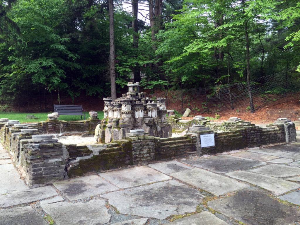 Joe Moshini's Stone Castle on Swan Lake in Sullivan County