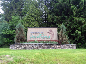 Welcome Sign to Bethel Woods Center for the Arts