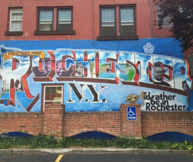Greetings From Rochester, NY Mural