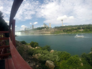 Maid of the Mist in Niagara Falls