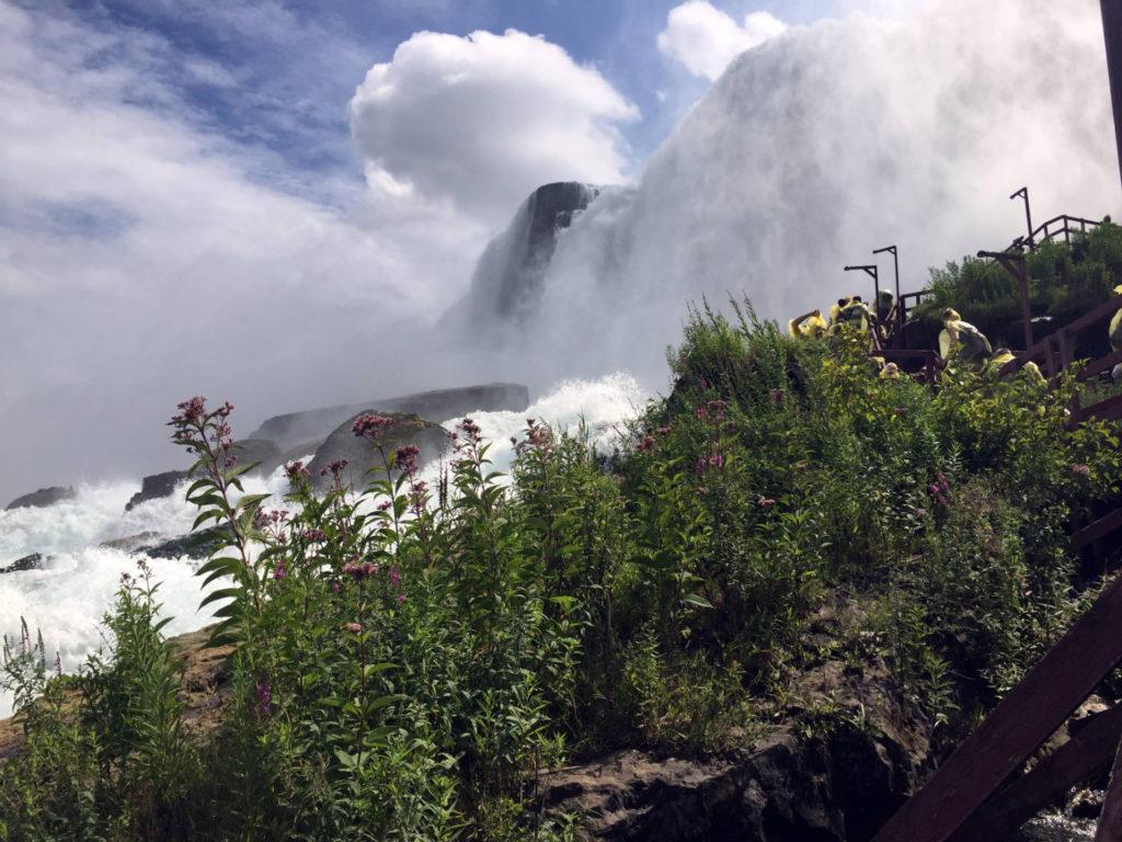 Base of Niagara Falls USA