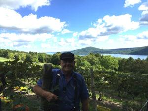 John Brahm in Historic Vineyard in Canandaigua, New York
