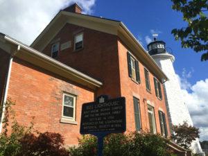 Charlotte-Genesee Lighthouse in Rochester, New York